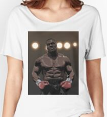 """""""IRON"""" MIKE TYSON Women's Relaxed Fit T-Shirt"""