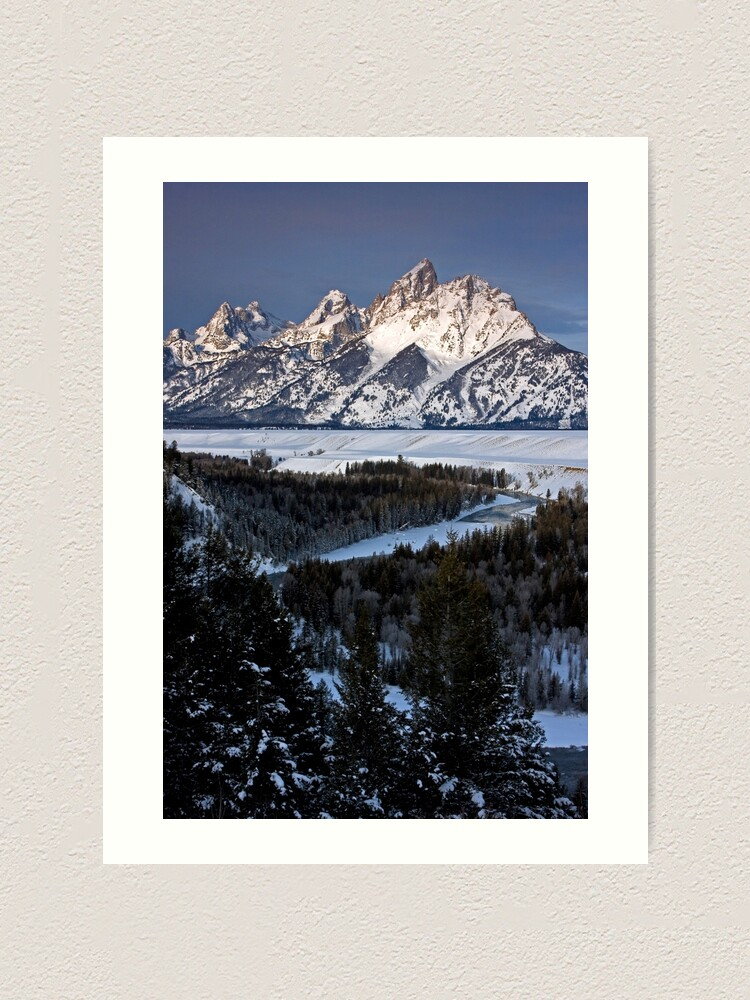 Alternate view of Snake River Overlook, Jackson Hole, Wyoming Art Print