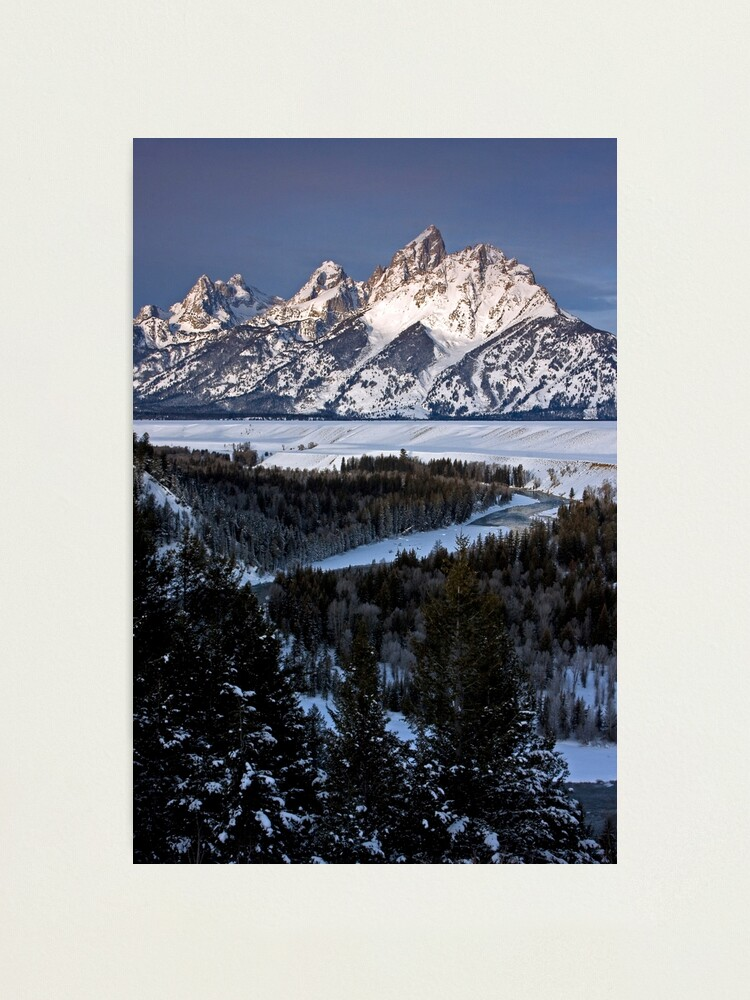 Alternate view of Snake River Overlook, Jackson Hole, Wyoming Photographic Print