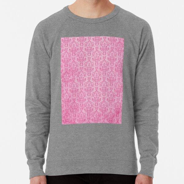 PINK DAMASK Pop Art Lightweight Sweatshirt