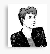 Glitter Dan Canvas Print