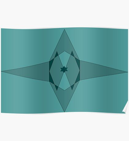 star shapes Poster