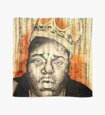 Notorious Big Painting Mixed Media Scarves