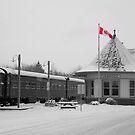 Uxbridge Ontario Canada~ built in 1904..... by Larry Llewellyn