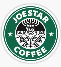 Joestar Coffee Sticker