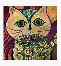 King Max Cat Photographic Print