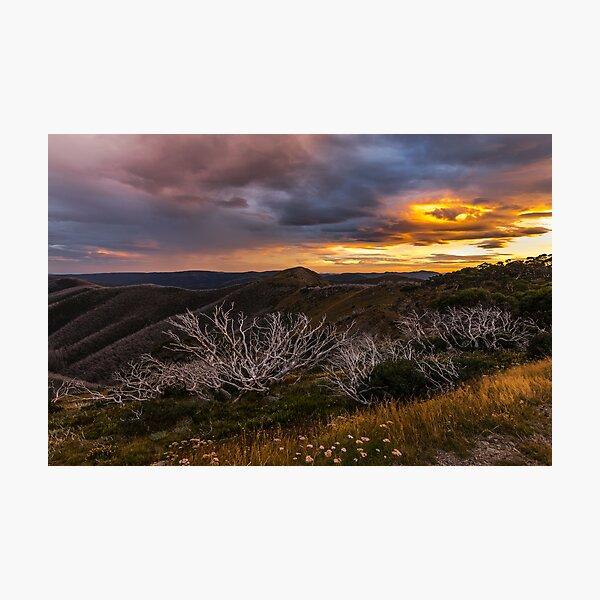 Mount Hotham Photographic Print