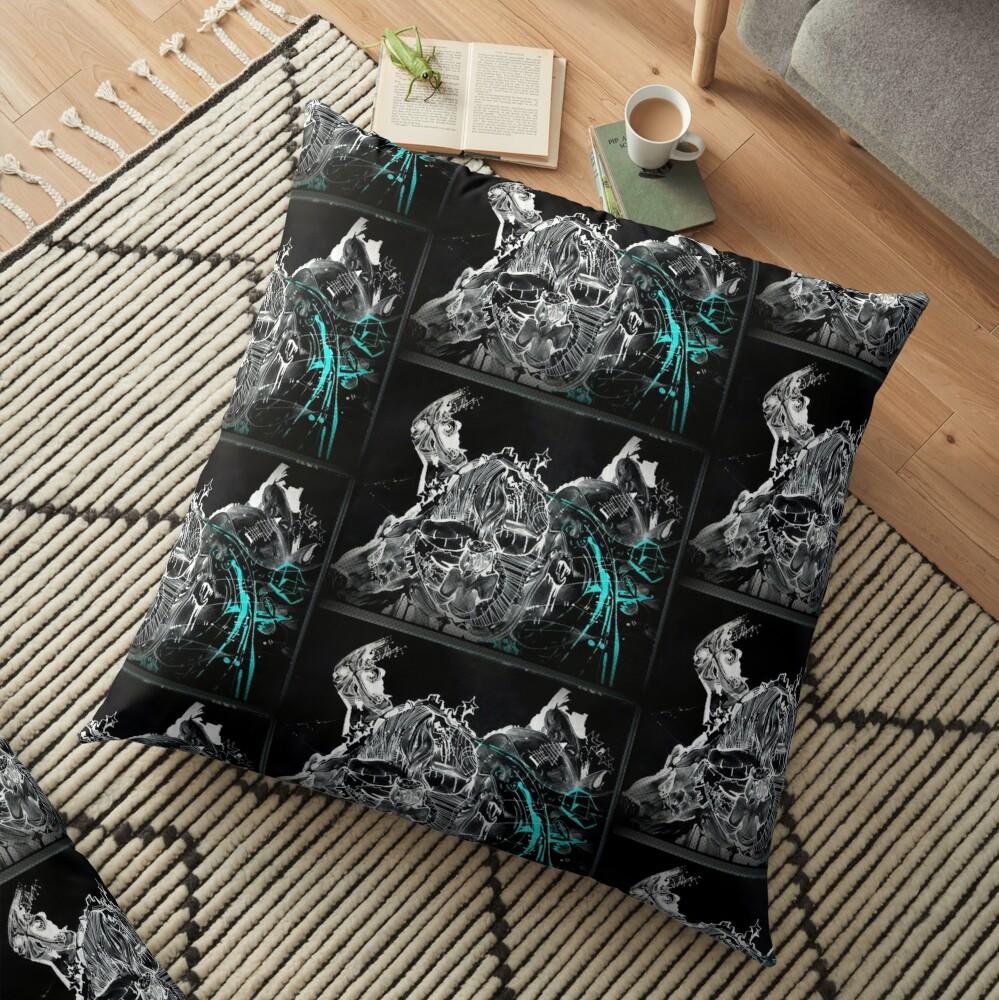 GalaxyX.. Soo Abstract !! XD   Floor Pillow