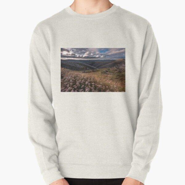 Mountain Wildflowers Pullover Sweatshirt