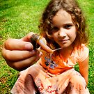 Grace and the snail by micklyn
