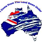 THE LAND DOWN UNDER by WhiteDove Studio kj gordon