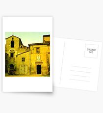 Lombardy Yellow Postcards