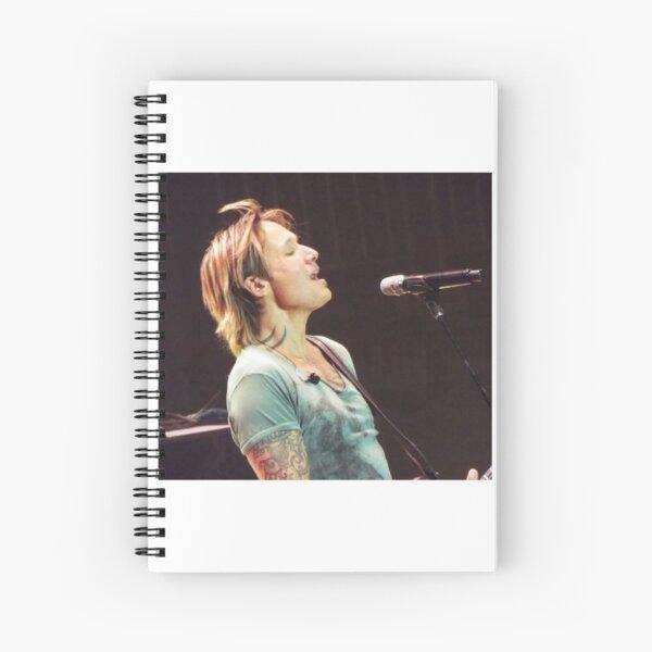 Keith Urban Ripcord Tour  Spiral Notebook