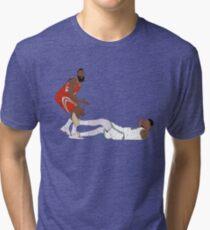 Camiseta de tejido mixto Marcus Smart atrae la carga