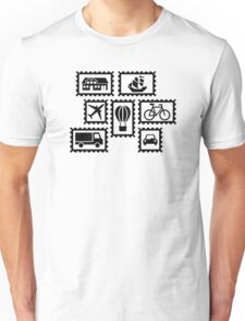 Stamp collection Unisex T-Shirt