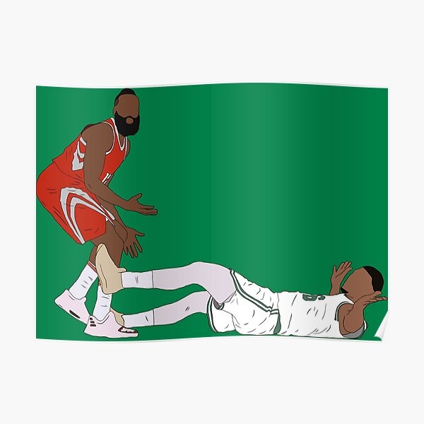 Marcus Smart Draws The Charge Poster