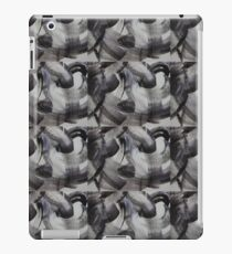 Black and white abstract  iPad Case/Skin