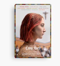 Lady Bird Film Poster Metal Print