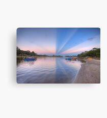 Anti-crepuscular Rays-2000 Canvas Print
