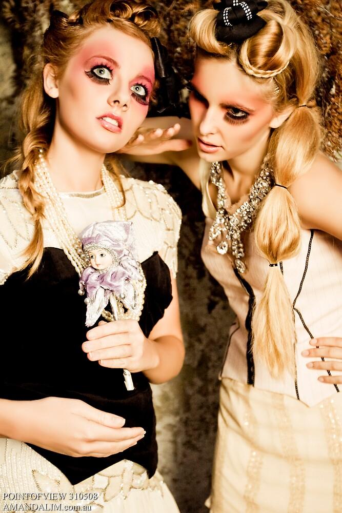 pocelin dolls by Maree Spagnol Makeup Artistry (missrubyrouge)