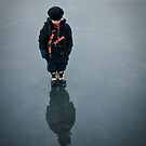 Walking on water by Olav Lunde