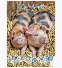 Let's Pig Out!! Poster