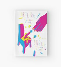Write the Feem Tune, Sing the Feem Tune Hardcover Journal