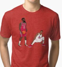 845820d34988 Ankle Breaker Staredown 1 Tri-blend T-Shirt