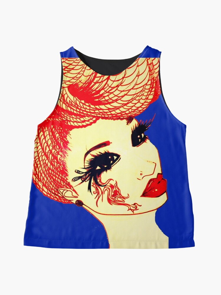 Alternate view of The Queen In Us Natural Hair Braids By Ashthepainter Sleeveless Top