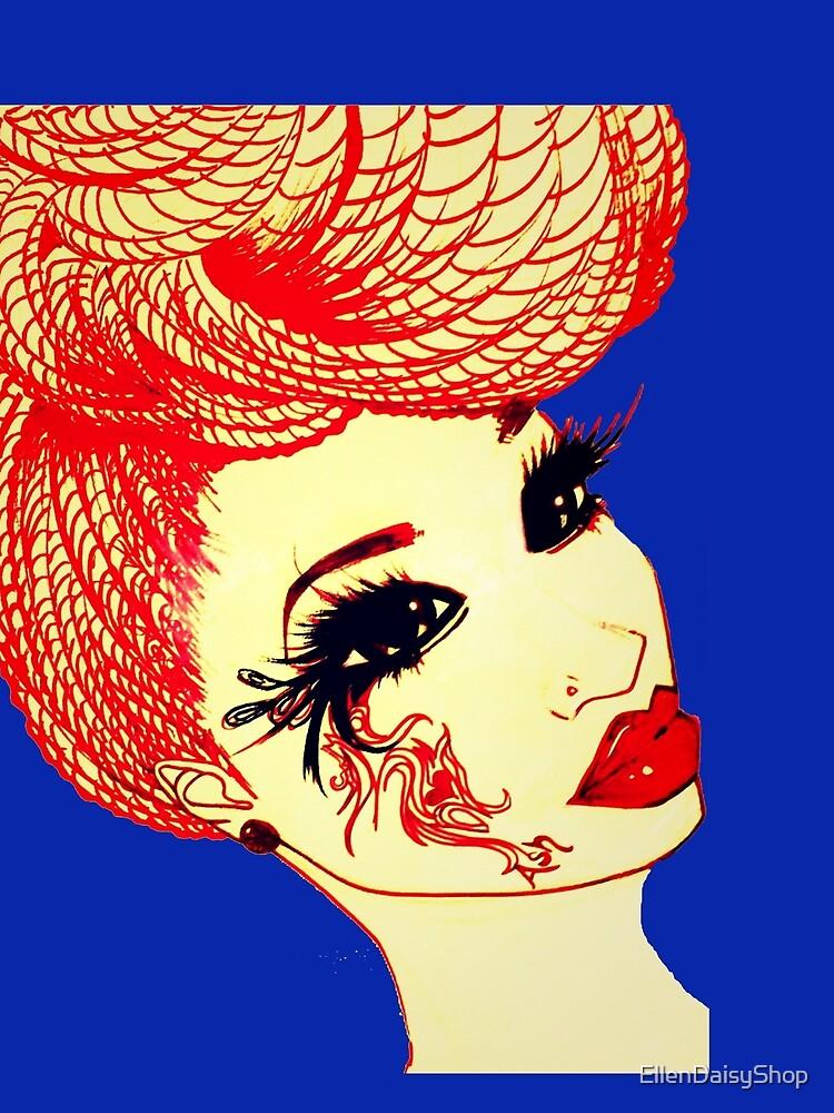 The Queen In Us Natural Hair Braids By Ashthepainter by EllenDaisyShop