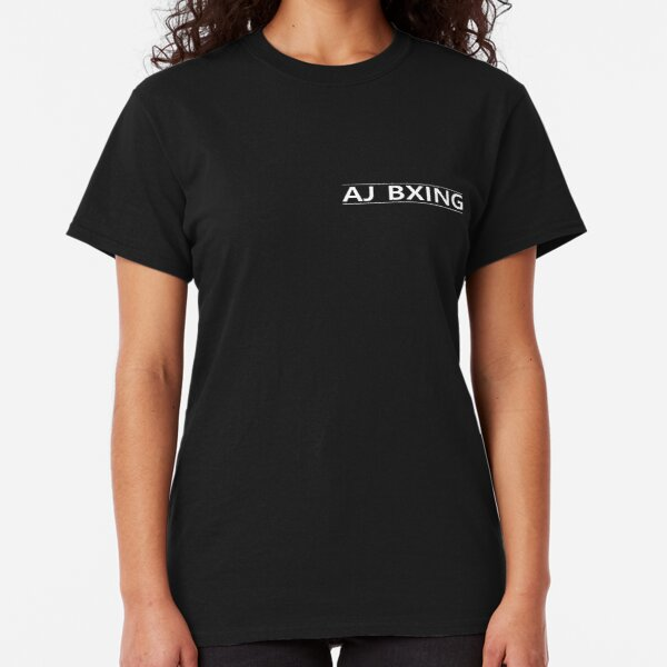 AJ BXING WHITE AND BLACK Classic T-Shirt