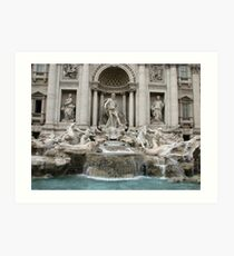 Fountain Art Print