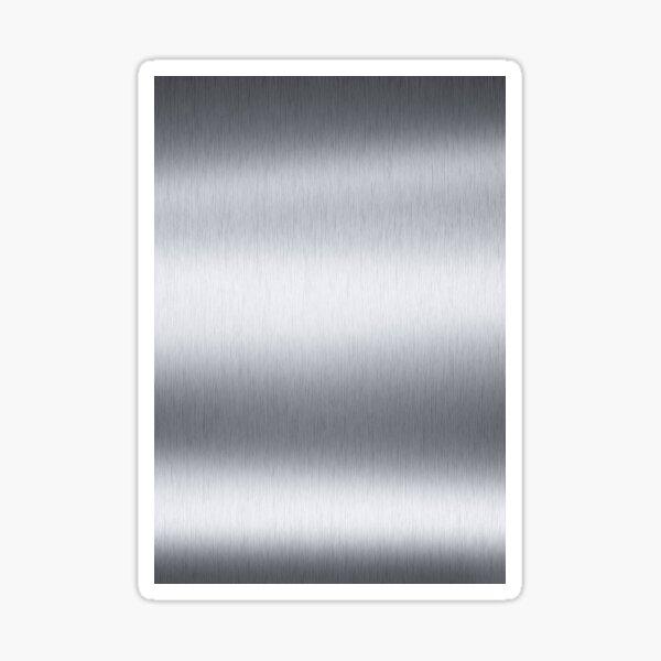 Stainless steel, metal, texture, #Stainless, #steel, #metal, #texture, #StainlessSteel  Sticker