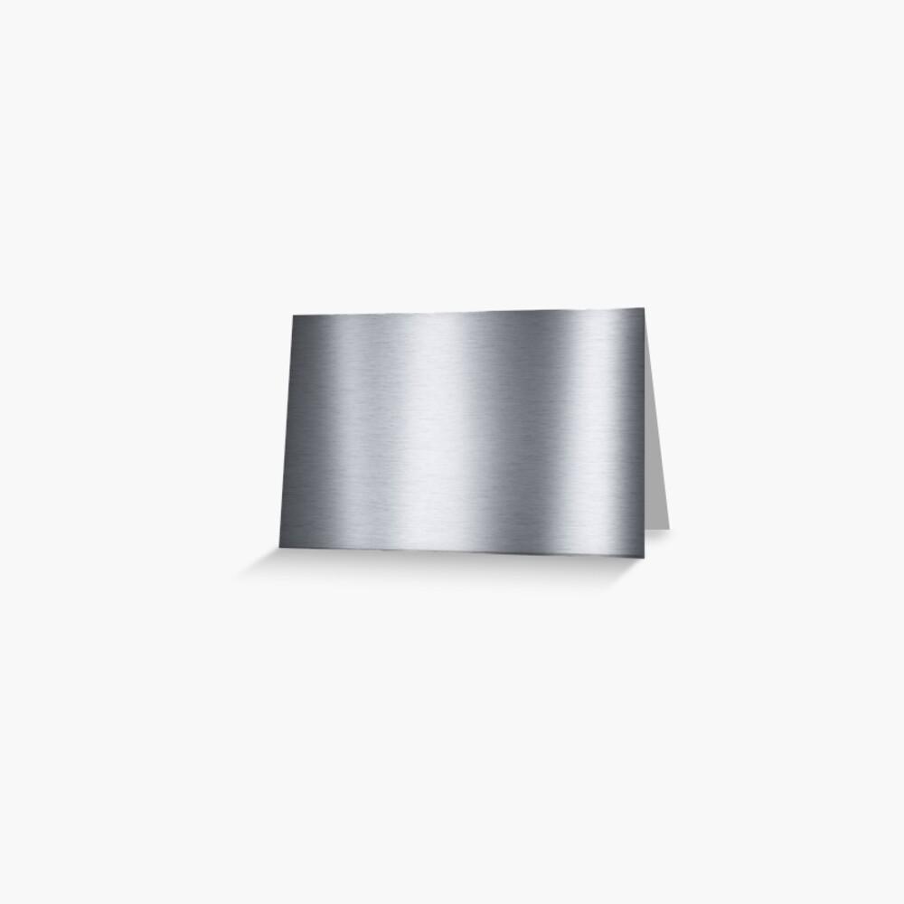 Stainless steel, metal, texture, #Stainless, #steel, #metal, #texture, #StainlessSteel  Greeting Card