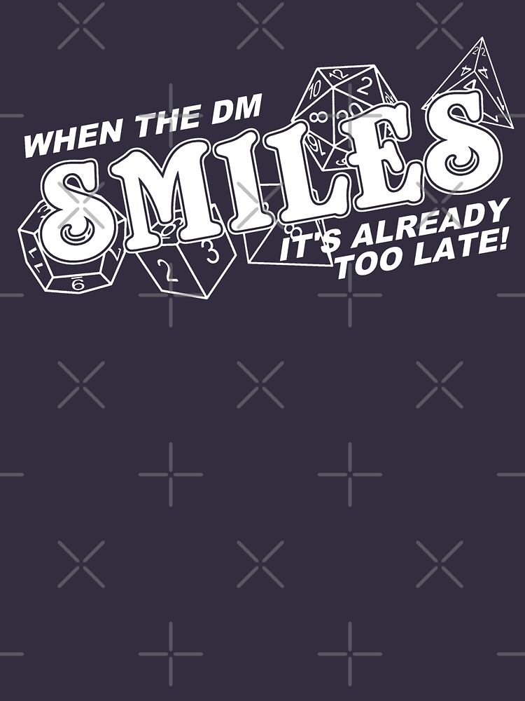When the DM Smiles White | Unisex T-Shirt