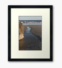 Tidal Stream to Ocean Framed Print