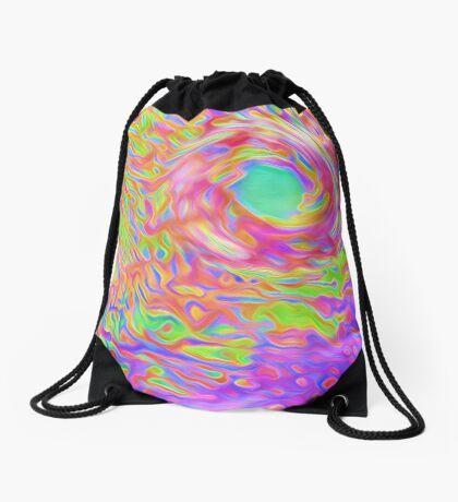High in the air Drawstring Bag