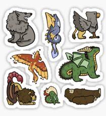 Creature Mix Sticker