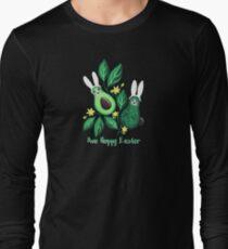 Avo Hoppy Easter | Avocado Easter Bunnies Long Sleeve T-Shirt