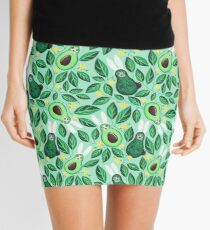 Avo Hoppy Easter | Avocado Easter Bunnies Mini Skirt