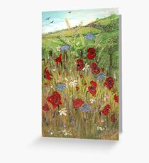 Poppy Field 1 Greeting Card