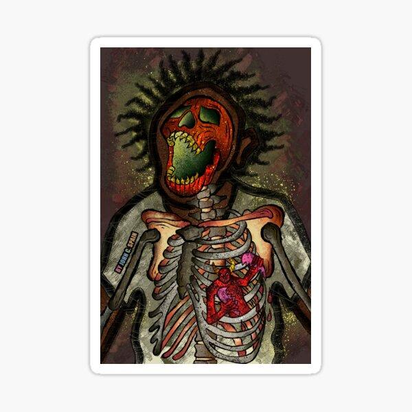 Detrás de la máscara (Dark Thoughts, Harsh Truth's 2) Pegatina
