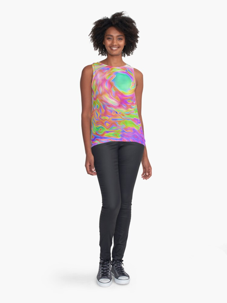 Alternate view of High in the air Sleeveless Top