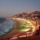 Reñaca beach. by Francisco Larrea