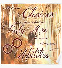 Choices Poster