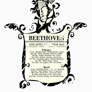 BEETHOVEN:LIVE AFTER DEAF TOUR 1813 by jvassi