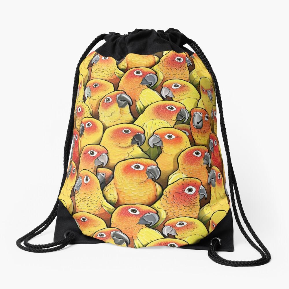 Sun Conures Drawstring Bag