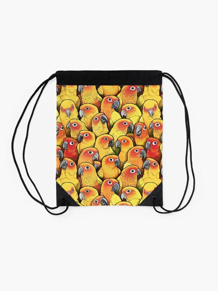 Alternate view of Sun Conures Drawstring Bag