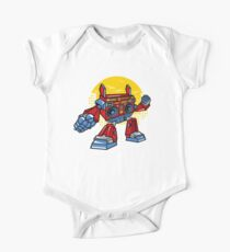 Funny Robot Graphic One Piece - Short Sleeve