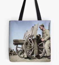 Francoist artillery positions, Madrid, 1936.  Tote Bag